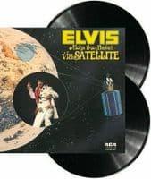 ELVIS PRESLEY Aloha From Hawaii Via Satellite Vinyl Record LP RCA Victor 1973